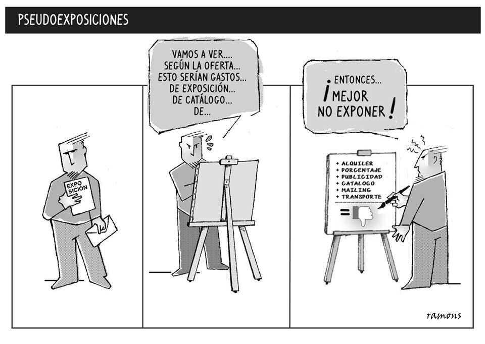 ¡Cuidado con las pseudo-galerías!. El artista siempre sale perdiendo 169