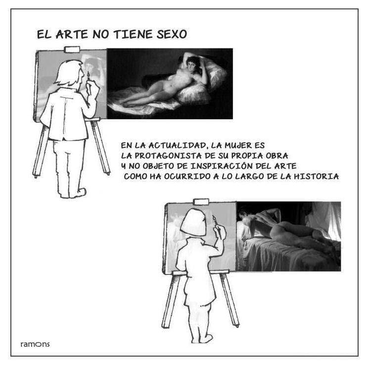 El arte no tiene sexo
