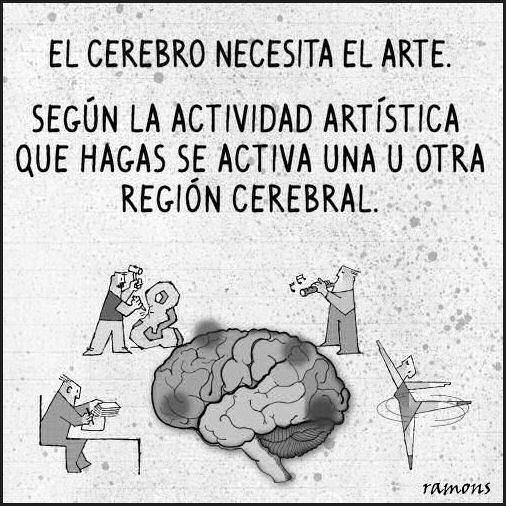 el cerebro necesita el arte