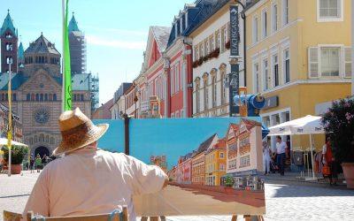 Concursos de pintura rápida. ¿Por qué es interesante participar?