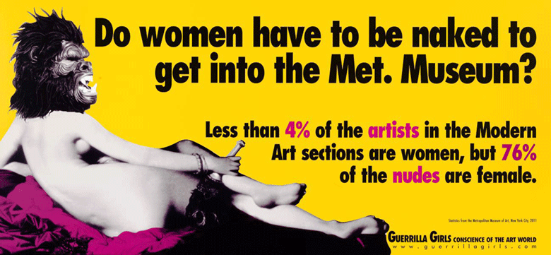 ¿Por qué se descrimina a la mujer en el arte? 12