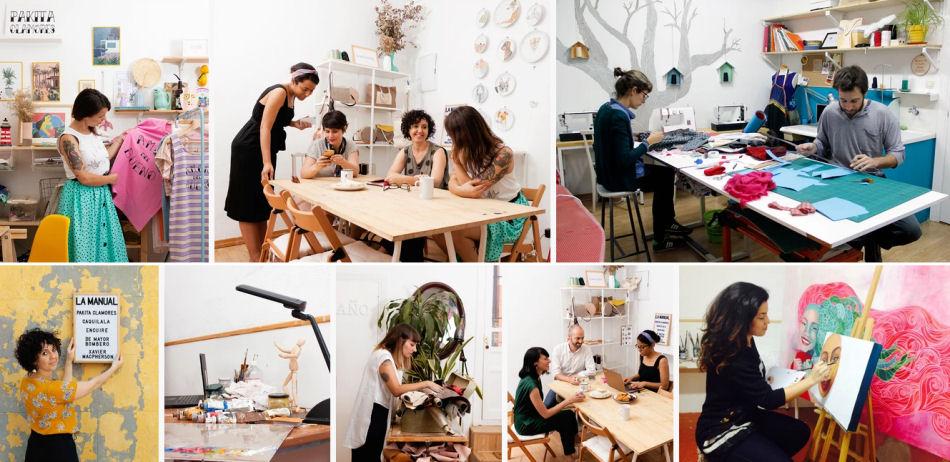 coworkins para artistas