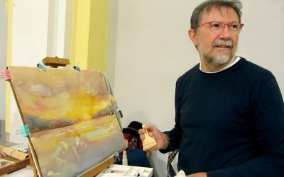 """José Grimalt:""""Llegar a ser un artista es el resultado de una tormenta perfecta"""" (I)"""