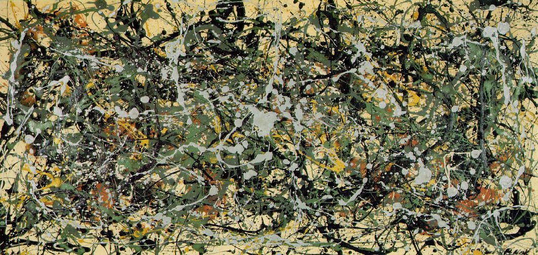 Número 8 -1949. Jackson Pollo
