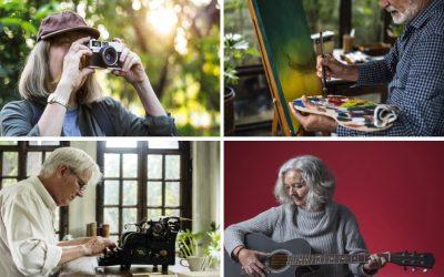 Estar jubilado y ser artista ya es compatible
