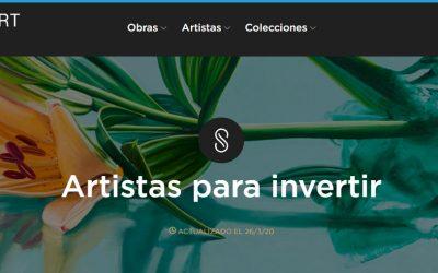 Singulart, comercializa y promociona la obra de artistas de más de 100 países